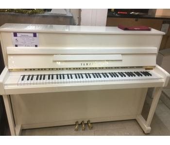 Piano d'occasion YAMAHA blanc