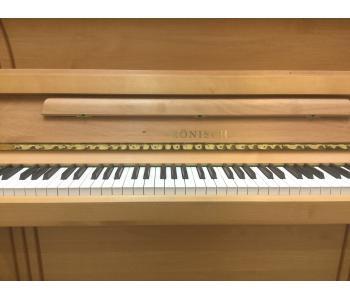 Piano droit RONISCH aulne ciré